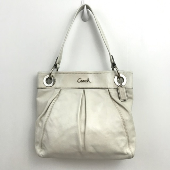 8c0650f4f0 Coach Bags | Ivory 2 Way Ashley Hippie Handbag Crossbody | Poshmark